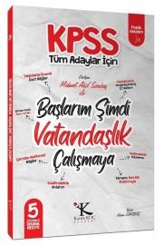 2021 KPSS Başlarım Şimdi Vatandaşlık Çalışmaya Ders Notları - Mehmet Akif Sarıbaş Kadir Koç Akademi