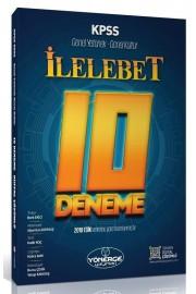 2021 KPSS Genel Yetenek Genel Kültür İLELEBET 10 Deneme Dijital Çözümlü Yönerge Yayınları