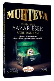 2021 ÖABT Türkçe-Edebiyat Muhteva Yazar Eser Soru Bankası Çözümlü - Oğuzhan Kırlı Yönerge Yayınları
